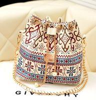 designer crocodile handbags - 2015 Fashion Women Crossbody Designer Handbag Canvas Plaid Chain Ladies Shoulder Bags Classic Crocodile floral Bags CC