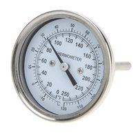Wholesale New High Precision Stainless Steel Oven Thermometer Temperature Gauge Food Meat Dial Home Kitchen Accessories order lt no track