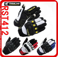 Wholesale 2016 new authentic RS TAICHI RST Summer short paragraph motorcycle racing gloves carbon fiber motorbike glove can touch colora