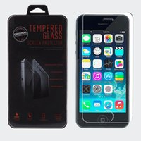 Wholesale Tempered Glass Screen Protector Explosion proof Guard Film with Retail Packing for quot quot iPhone G Plus S S High Quality