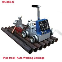 Wholesale HK SS G Pipe Track Welding Tractor to help Welding Machine Hold the Torch of Arc Welders to Auto Welding Parallel Pipe track