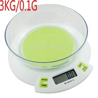 chinese food - High precision household kitchen scale electronic balance scale food baking scale chinese herbal medicine kg g