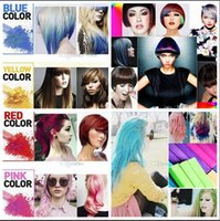 Wholesale 2015 HOT Color Hair Chalk Fashion Color Hairs Chalk Dye Pastels Temporary Pastel Hair Extension Dye Chalk Hair Color Crayons BBA3348