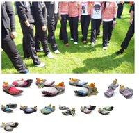 venda por atacado five finger sport shoes-Atacado-2015 Atacado Cinco Caminhadas sapatos 5Fingers masculinas Toe 5 dedos sapatos cinco -fingers caminhadas ao ar livre escalada sapatos de desporto de tênis