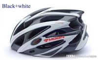 Wholesale Moon Bike Helmet Can For Road Riding And MTB Cycling Helmet Holes With Removable Brim Bike Protective Safety Gears Weight g BH