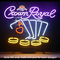 Neon poker signs cheap