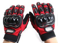 Wholesale Motorbike Racing Gloves Motorcycle Men New Racing Bike Bicycle Cycling Full Finger Protective Gloves