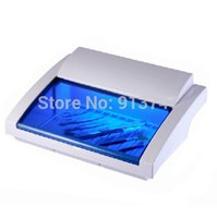 Cheap nail UV sterilizer cabinet for tools and nail towel uv disinfection equipment sterilizer box, nail tools for Salon