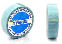 3YARDS SUPER CINTA AZUL cinta adhesiva de Doble cara para las extensiones de cabello adhesivas de encaje peluca de pegamento