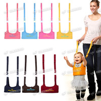 Wholesale Good Baby Toddler Walking Assistant Fom Mom Carrier Keeper Learning Walk Safety Reins Harness walker Wings Protection Belt