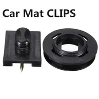Wholesale Hot Sale x Car Mat Carpet Clips Fixing Grips Clamps Floor Holders Sleeves Premium Black ABS Plastic