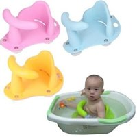 tub chairs - Baby Bathing Supplies Baby Infant Child Toddler Bath Seat Ring Non Anti Slip Safety Chair Mat Pad Tub