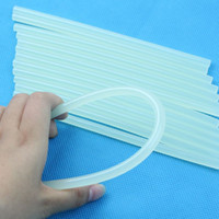 Wholesale Clear Glue Adhesive Sticks For Hot Melt Glue sticks for Glue Gun Car Audio Craft Alloy Accessories mmx180mm