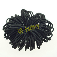 Wholesale JZ101 Black Hair Bands Ponytail Holder For Lady Hair Hair Accessories