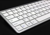 aluminum imac - Universal Ultrathin Aluminum ABS Wireless Bluetooth Keyboard for iPad Android Tablet PC Keys Desktop Computer iMac Retail Packaging Q2