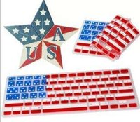 silicone keyboard cover - Keyboard cover US National Flag Soft Silicone Keyboard Protector Cover Skin For MacBook Pro Air Retina inch Waterproof Dustproof