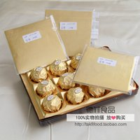 Wholesale gold chocolate wrapping tin foil covered chocolate candy aluminum foil Embossing paper cm