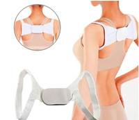 Wholesale Adjustable Therapy Back Support Brace Belt Band Posture Shoulder Corrector Body Support Correctors Body Sculpting Slimming Correct Posture