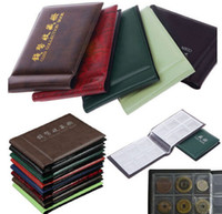 Wholesale 20pcs Coin Holders Collection Storage Money Penny Pockets Album Book Collecting Random Colors