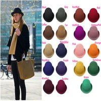 Wholesale Autumn Winter Fashion Elegant Women Gril Cap Ladies Bucket Hat Ladies Caps Colors For Christmas Gift