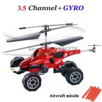 air fighter - CH remote control aircraft air ground amphibious helicopter birthday with a gyroscope remote unmanned fighter aircraft