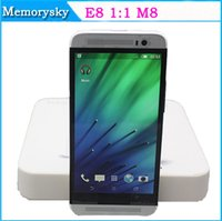 e8 android - 5inch E8 M8 MTK6572 Dual Core M GB Show G G Android KitKat GPS G WCDMA Micro Sim Card MP Camera Smart Phone