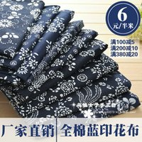 100 cotton fabric - 1 meter cotton fabric active printing blue batik cm us meter patchwork fabric tecido textile table cloth wallcloth