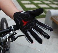 finger bmx bike - New hot sale GEL Bike Bicycle Gloves Full Finger Motocross Riding Dirt Bike BMX Cycling Biking Gloves