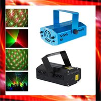 laser show equipment - Cheap AC110 V Multicolor Mini Led Stage Lights Laser show Projector Disco DJ Equipment christmas light Party wedding lighting