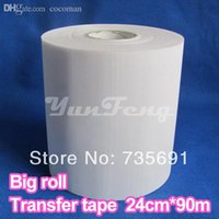 acryl tape - Hotfix paper CMX90m roll wide Acryl Transfer tape for Hotfix rhinestones DIY tools