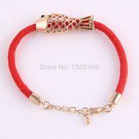 Cheap Aliexpress pulseras mujer bijoux Chinese wind carp hollow Bracelets friendship bracelets best friends