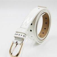 best white jeans - White Business Jeans Waist Belt Alloy Needle Buckle cm Waist Band Best PU Leather Waist Strap Hot Sale OD3155