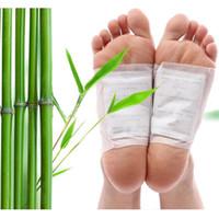 bamboo foot massage - 100 Detox Foot Pad Patch Massage Relaxation Relief Stress Tens Help Sleep Body Neck Feet Massager Bamboo