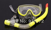 Wholesale Free FedEx shipping diving goggles Diving Mask And Snorkel Set Shield Goggles Swimming Goggles Diving Equipment