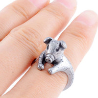 antique rings for sale - 2015 Fashion Jewelry for Women New Antique Silver Color Cute Pig Shaped Rings Hot Sale Fine Jewelry Best Gift Animal Ring
