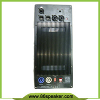 amplifiers class d - Subwoofer Speaker Amplifier Board RMS W Class D Amplifier Plate Built in DSP module with Aluminum Radiator
