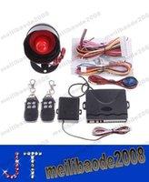 Wholesale Car alarm security system Way Car Alarm Protection System with Remote Control auto burglar alarm system MYY14046a
