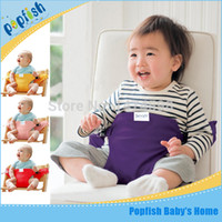 Feed Bag - 2015 Baby Chair Portable Infant Dining Baby Carrier Hair Seat Safety Belt Baby Sling Baby Bag Feeding High Chair Carrier