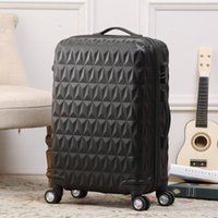 al por mayor rodando llevar maleta-Carry On Luggage- patten de diamantes Rolling Travel Suitcase