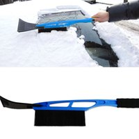 Wholesale Multifunction Retractable Snow brush Snow Remover Ice Scraper Brush Stickers for Car Truck Window Cleaning