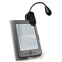 Wholesale Portable Mini LED Book Light Level Brightness White Color Clip Flashlight Flexible Table Lamp For Reading In Dark ST20