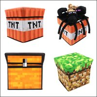 bag in box - 30 cm Minecraft Storage box Multifunction Storage bag Foldable Stool hot Accessories in stock DHL MOQ SVS0378