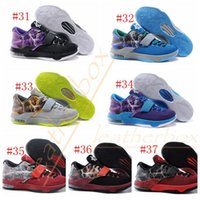 Men cheap sneakers - 37 Colors Kevin Durant KD EP VII Basketball Shoes Men Shoes Sports Training Sneaker Running Cheap Price Top Quality Shoes Size40