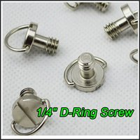 Wholesale Stainless Steel D Ring Hinged quot screw adapter for Camera Tripod quick release plate Baseplate Should Mount