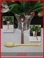 Wholesale Chinese traditional crafts bamboo baby milk powder spoon rice spoon convenient soup spoon