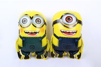 Wholesale 50pcs x58cm Despicable Me minions balloon Despicable Me Minions Foil Balloon Birthday Party Wedding Decoration Supplies kids toy