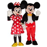 Wholesale Fancytrader Cheap Price Mickey and Minnie Mascot Costumes EPE Head with helmet FT20041
