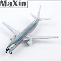 aa airline - Toy Model Airplane Scale American Airlines Boeing AA Grey Color Diecast Airplane Model Colorful Box Packing