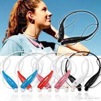 Cheap Universal wireless bluetooth earphone colorful HB-800 stereo headset wireless wearing style headphone sport headphone in retail box 10P LOT