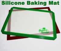 best pastry - Single Wrapped Non Stick Silicone Mats Baking Best Glass Fiber Baking Sheet Rolling Dough Pastry Cakes Bakeware Liner Pad Cooking Tools